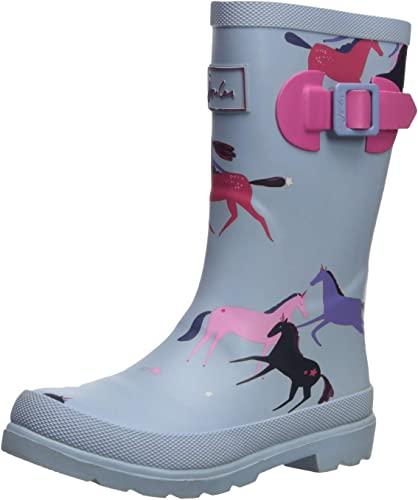 Joules Girls Welly Rain Boot, Magical