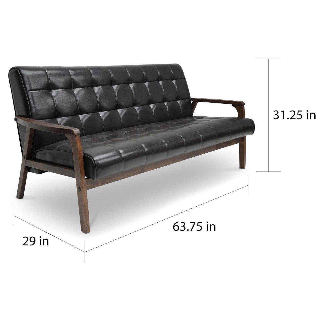 Strange Amazon Com Myeasyshopping Karkkila Brown Sofa Sofa Brown Creativecarmelina Interior Chair Design Creativecarmelinacom
