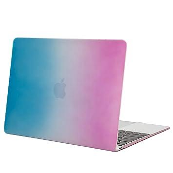 Amazon.com: Mosiso carcasa rígida para nuevo MacBook 12 inch ...