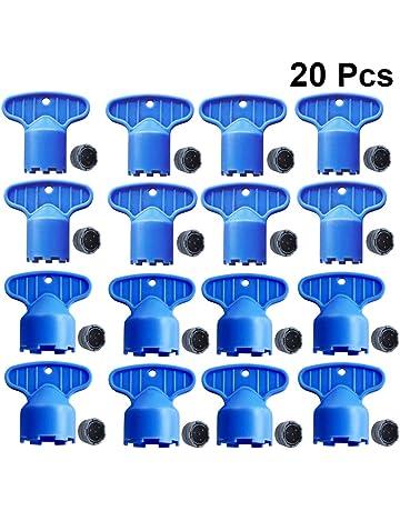 DOITOOL Herramienta de llave de extracci/ón de llave de aireador de grifo de cach/é de 5 piezas para m 16.5 18.5 21.5 22.5 24 aireadores de cach/é llave de aireadores de fregadero de cocina