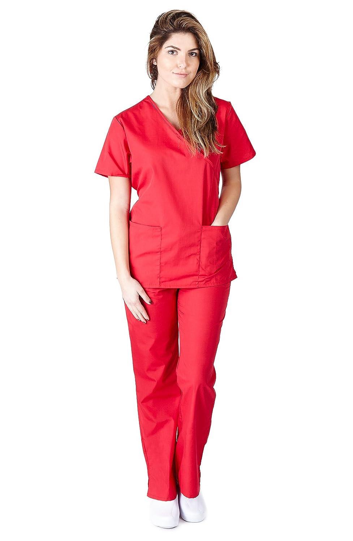 Natural Uniforms Womens Mock Scrub Image 3