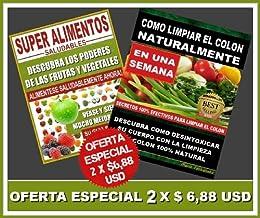 Amazon.com: Super Alimentos Saludables y Como Limpiar el ...