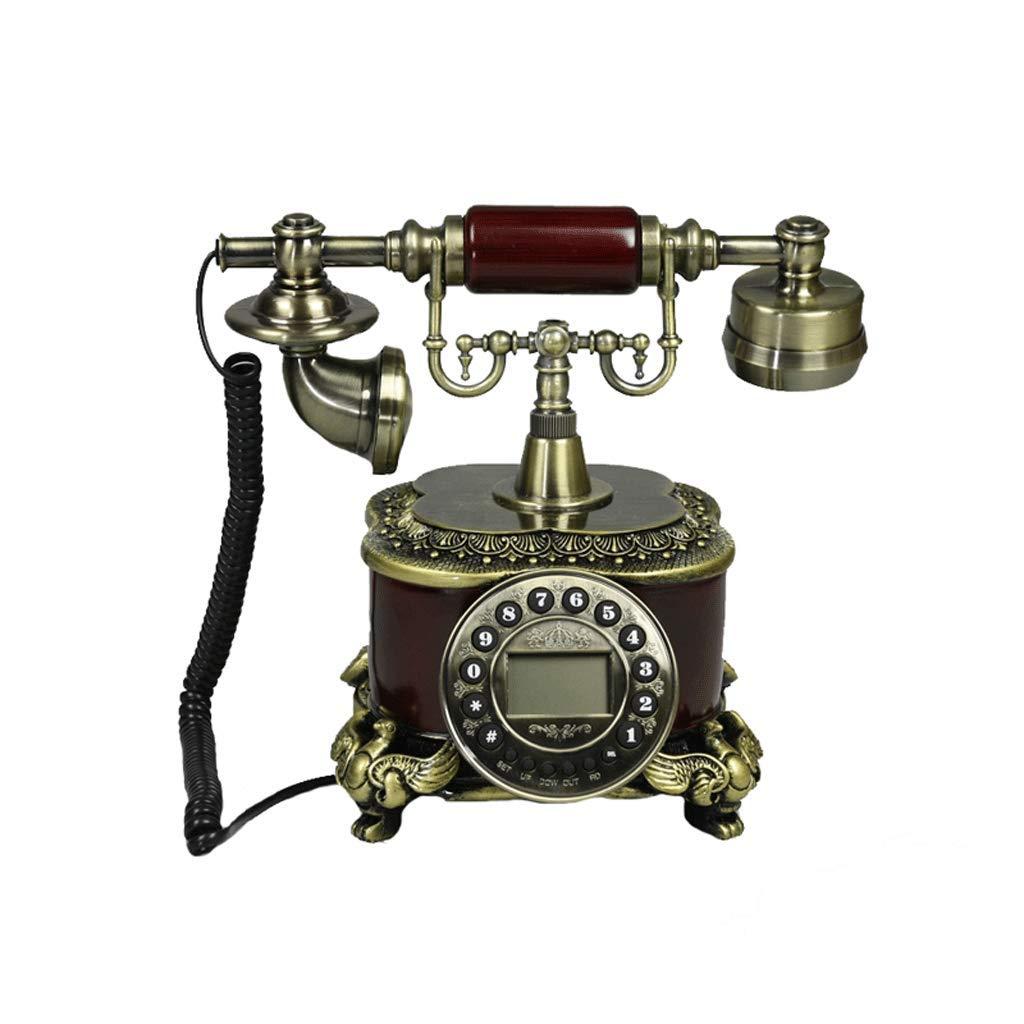LCSHAN レトロ電話樹脂パーソナリティシンプルなオフィスの家リビングルームの固定電話 B07JYXV9NC
