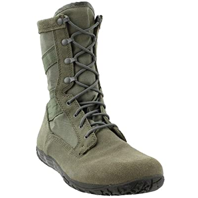 Tactical Research TR103 Men's Mini-Mil 8-in Trainer Tactical Boot Sage Green 4 W US: Shoes