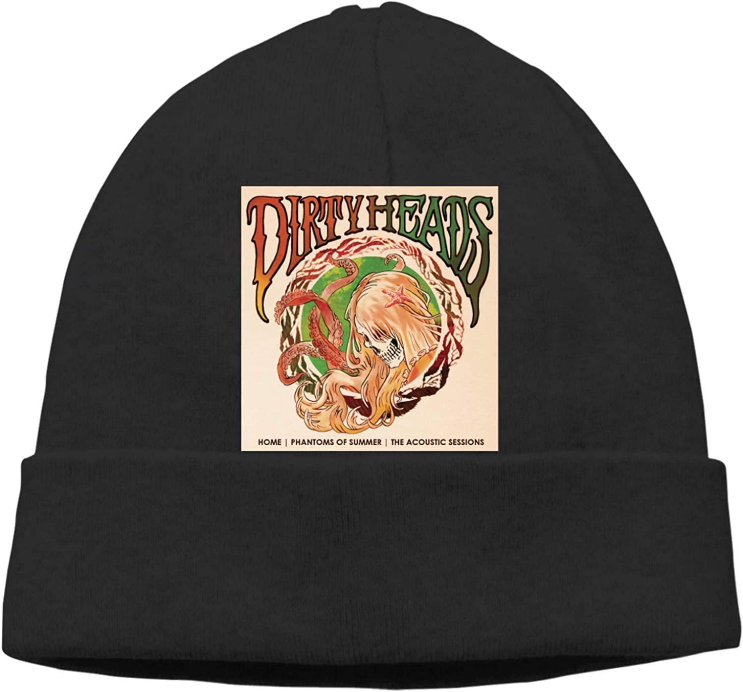 Zhoucous Dirty Heads Home Phantoms of Summer Fashion Beanie Caps Unisex Warm Hedging Cap Winter Knitting Hat