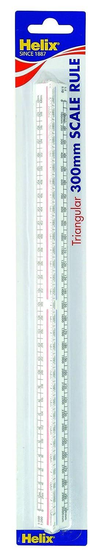 Helix 300mm Metric Triangular Scale Ruler K93070