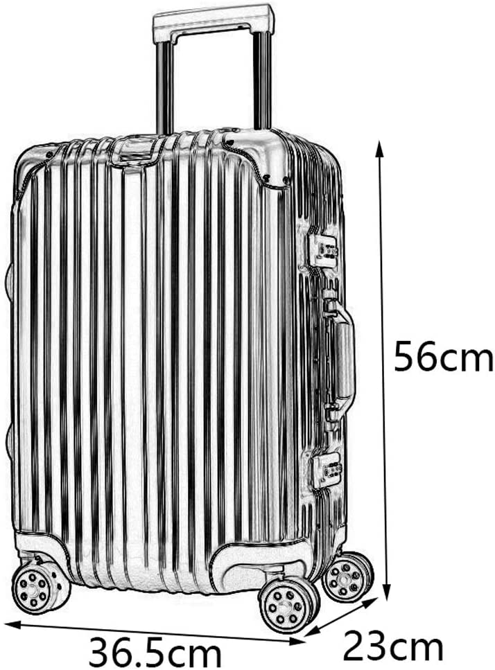Stylish Scratch-Resistant Brushed Hidden Hook Large Capacity Suitcase ZJ-Trolley Trolley case ABS+PC 2 TSA Customs Lock Large Diameter Brake Caster 4 Colors