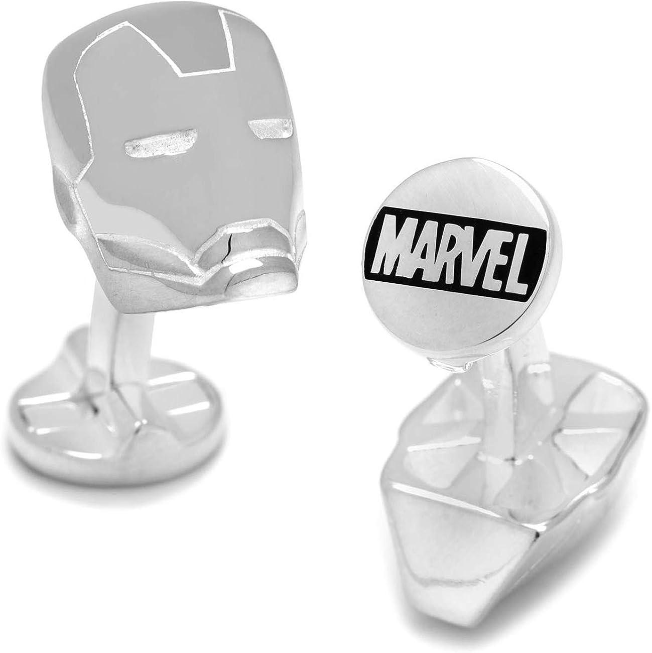 Marvel Thor Casque Boutons de Manchette Argent/é Bo/îte