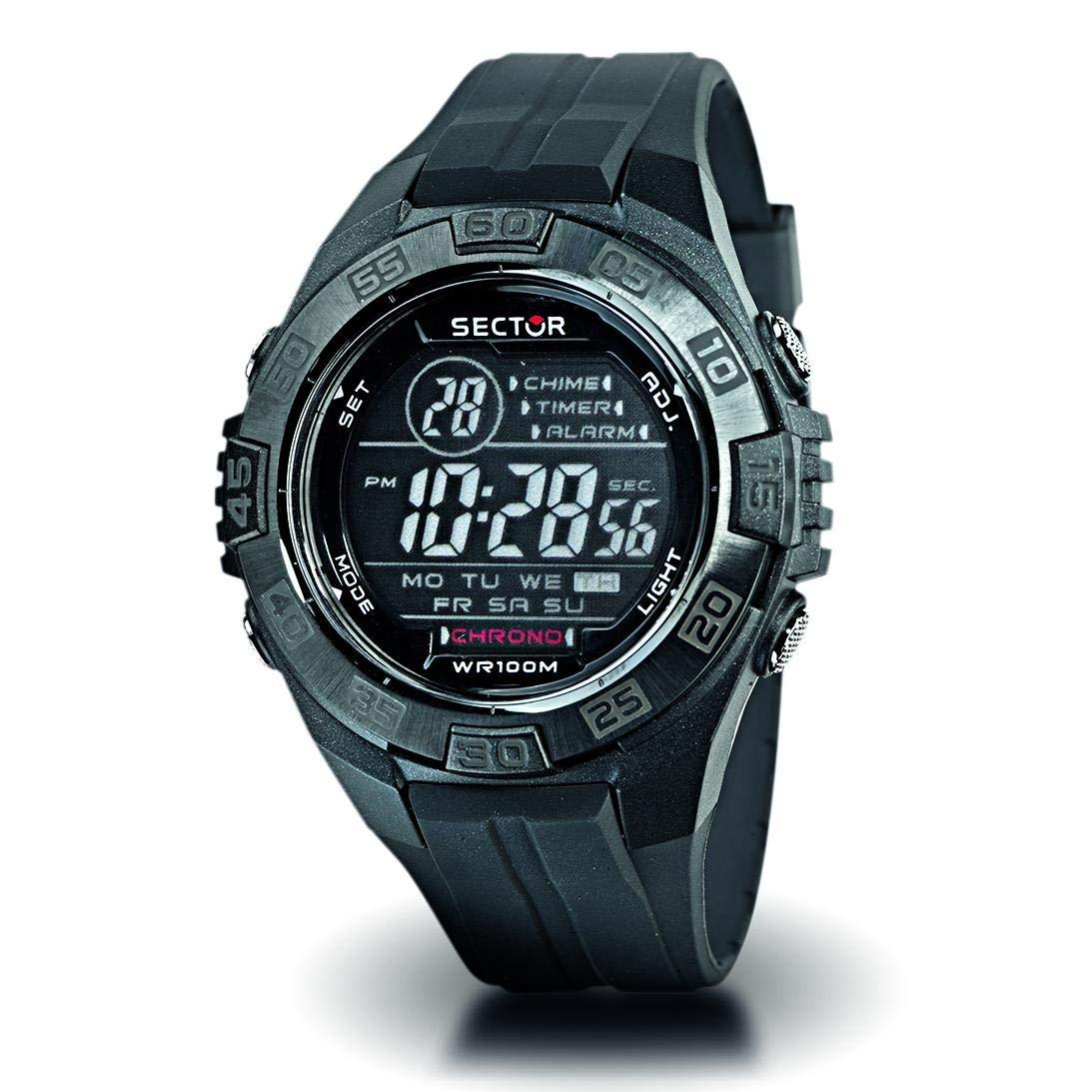 Sector Reloj Digital para niño de Cuarzo con Correa en Plástico 135-2107-48