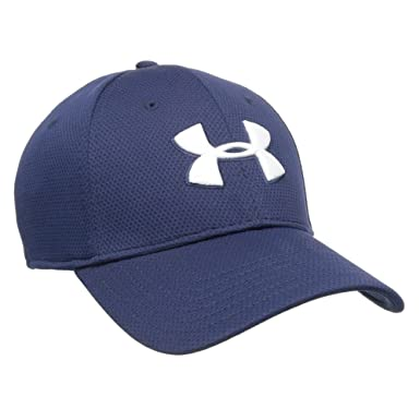 under armour baseball caps navy men stretch fit cap blitzing hat custom