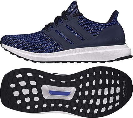 adidas sneaker leder blau 38