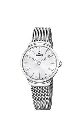 cbbd3e7d4fa7 Lotus Watches Reloj Análogo clásico para Mujer de Cuarzo con Correa en  Acero Inoxidable 18495 1  Amazon.es  Relojes