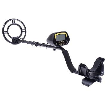 LCD kit de detector de metales sensibles búsqueda del tesoro Hunter W/pala resistente al agua bobina: Amazon.es: Jardín