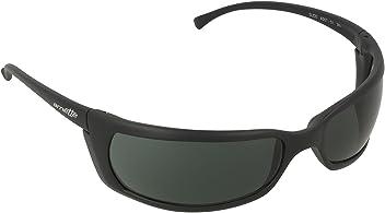 Arnette Mens Slide Sunglasses (AN4007) Black Matte/Green Plastic - Non-Polarized