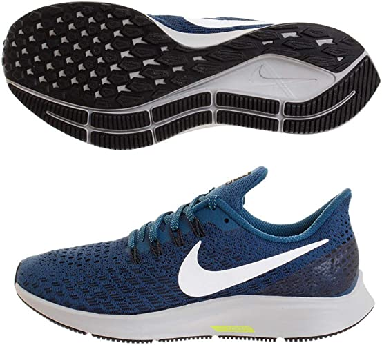 Destrucción no se dio cuenta Chicle  Nike Men's Air Zoom Pegasus 35 Competition Running Shoes, Multicolour (Blue  Force/White/Black/Wolf Grey 403), 6 UK: Amazon.co.uk: Shoes & Bags