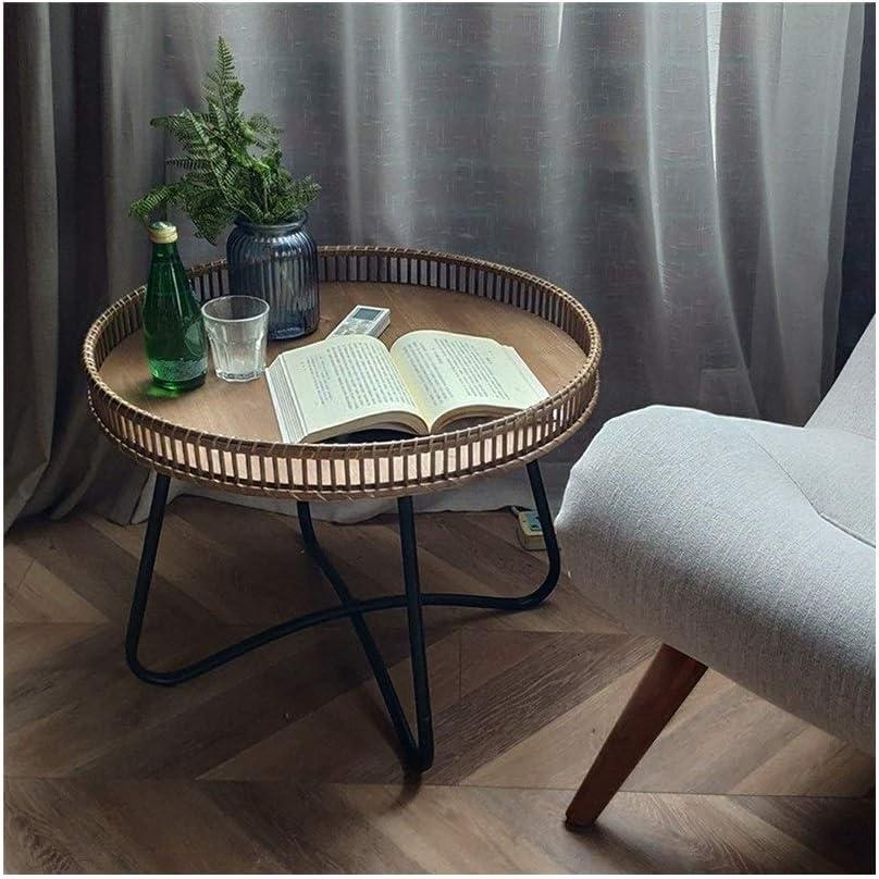 Beste Prijs Casual Salontafel Rack Sofa Moderne Salontafel Creatieve Bijzettafel Eenvoudige Kleine Ronde Nachtkastje Plank Round Salontafels Woonkamer 4.11 (Color : 60X46CM) 60X46CM FlMhdhw