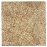 Achim Home Furnishings FTVGM32920 Nexus 12-Inch Vinyl Tile, Geo Ancient Beige Mosaic, 20-Pack