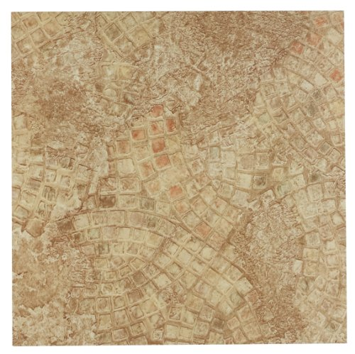 Brown Mosaic Tile Flooring - Achim Home Furnishings FTVGM32920 Nexus 12-Inch Vinyl Tile, Geo Ancient Beige Mosaic, 20-Pack