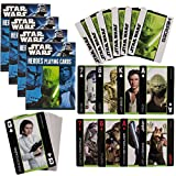 Cartamundi Star Wars 4 Pack Decks Themed Playing Cards Heroes Set By Collector Pack