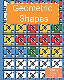 Amazon.com: Creative Therapy : Geometric Shapes Coloring Book for ...