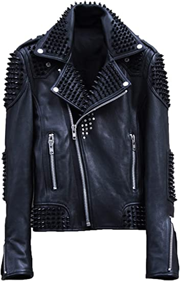 Man or Woman Vest Leather Sleeveless Big Size Bikers Country