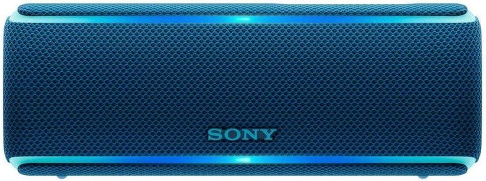 Sony SRS-XB21 Portable Wireless Bluetooth Speaker, Blue (SRSXB21/Ll)