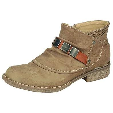 903ba732e9c4 Rieker Damen Stiefel Stiefelette 360542  Amazon.de  Schuhe   Handtaschen