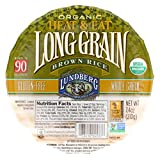 Lundberg Family Farms Organic Long Grain Brown Rice - Case of 12 - 7.4 oz.