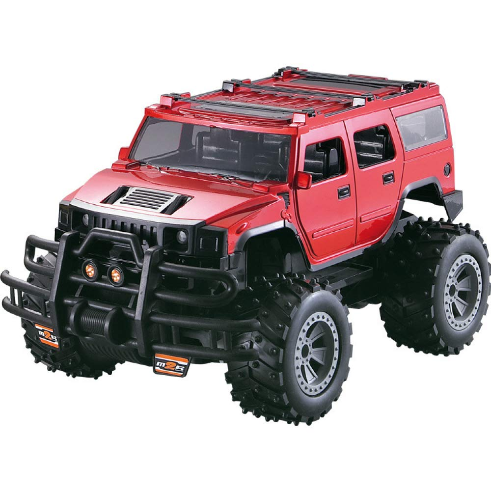 Red 0.0513888888888889 ROBOTTOY RC Car,with Working Lights Radio Controlled On Road RC Car 1 14 Model Remote Control Car,Great Toys For Boys And Girls,Red1 14