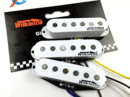 Amazon com: NEW Wilkinson Premium 60's WVS Alnico V Single