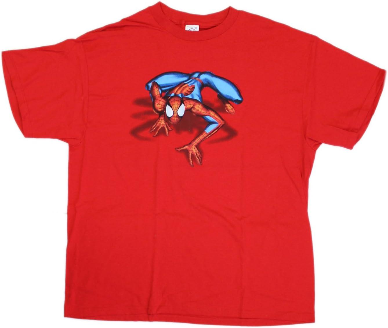 Camiseta roja de Spiderman (extra grande) - Camisa extra grande de Spiderman: Amazon.es: Juguetes y juegos