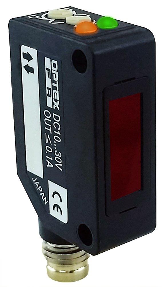 Optex FA 10 meter polar retro-reflective laser beam photoelectric sensor PNP output M8 4 pin QD