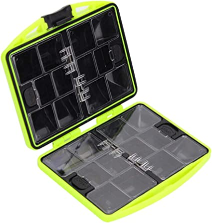 Small Compartments Waterproof Fishing Lure Bait Tackle Storage Hook Plastic Box