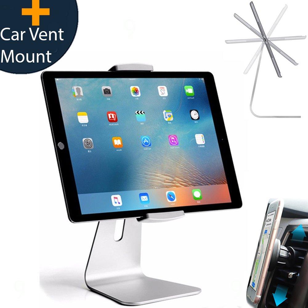 Amazon.com: Elegant Adjustable Aluminum Tablet Holder Stand, 360 ...