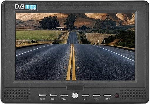 HD Mini DVB Televisor Digital de 7 Pulgadas, TV Portátil de Alta ...