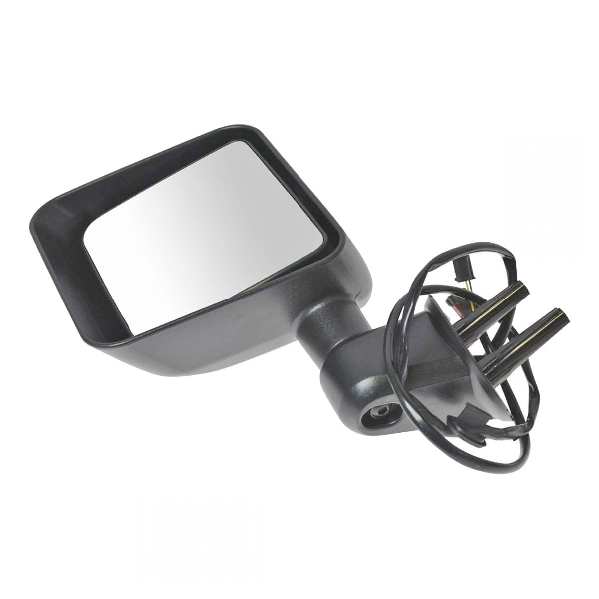 for 2015 2016 2017 Jeep Wrangler LH Left Driver Mirror Power//Heated Textured