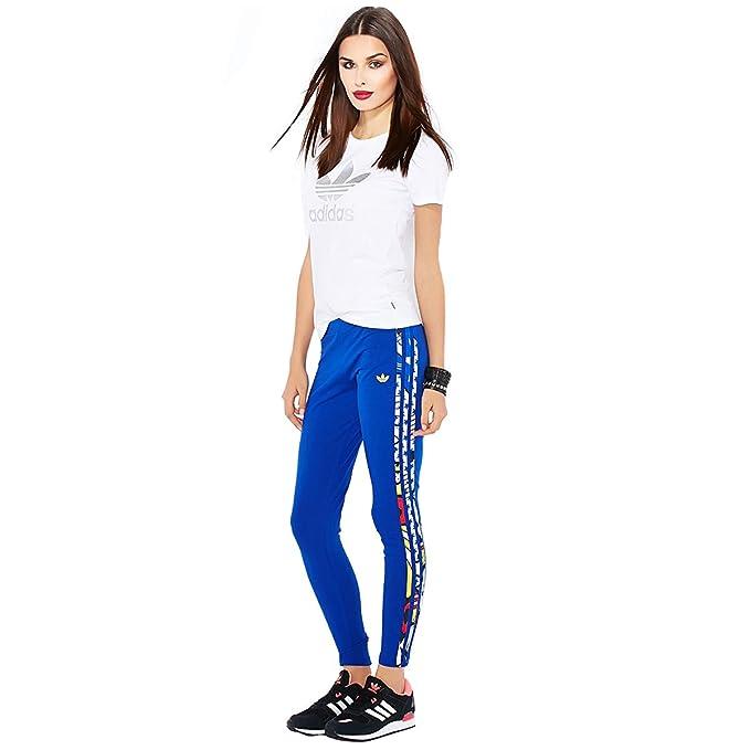 3275982d8b9e1 Adidas Women's Rita Ora A96215 Super Logo Leggings, Bold Blue, S ...