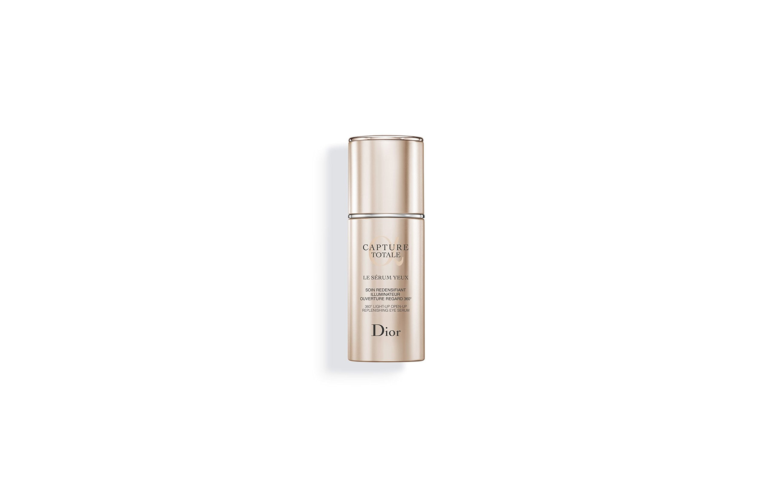 DIOR CAPTURE TOTALE 360° LIGHT-UP OPEN-UP REPLENISHING EYE SERUM 15ML.