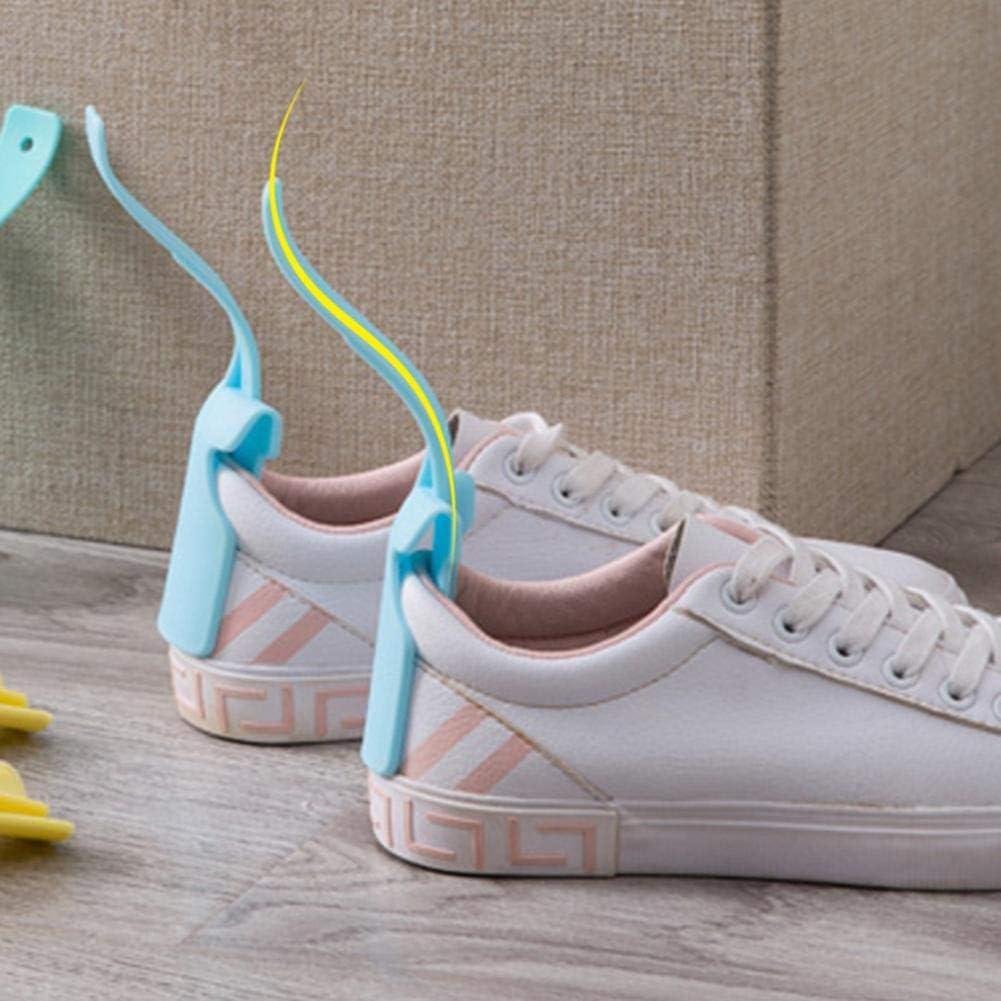 Beaviety Plastique Aide Chaussures Paresseux Lazy Shoe Helper Unisexe Corne De Chaussure /À Poign/ée Helper De Chaussures sadapte /À Toutes Les Chaussures