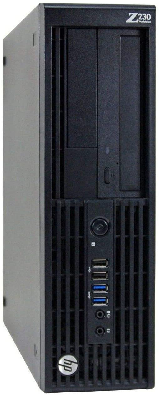 HP Z230 Workstation Gaming Computer Desktop, Intel Core i5-4590, 16GB DDR3 RAM, 240GB SSD & 2TB HDD, USB 3.0, NVIDIA GeForce GT 1030 2GB, HDMI, DVI, WiFi - Windows 10 Professional (Renewed)