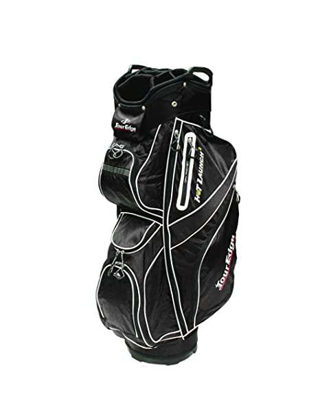 Tour Edge Golf Hot Launch 2 Cart Bags Negro bolsa de golf ...