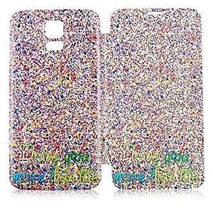 TY-Modelo de punto colorido de la caja de cuerpo completo para Samsung Galaxy i9600 S5