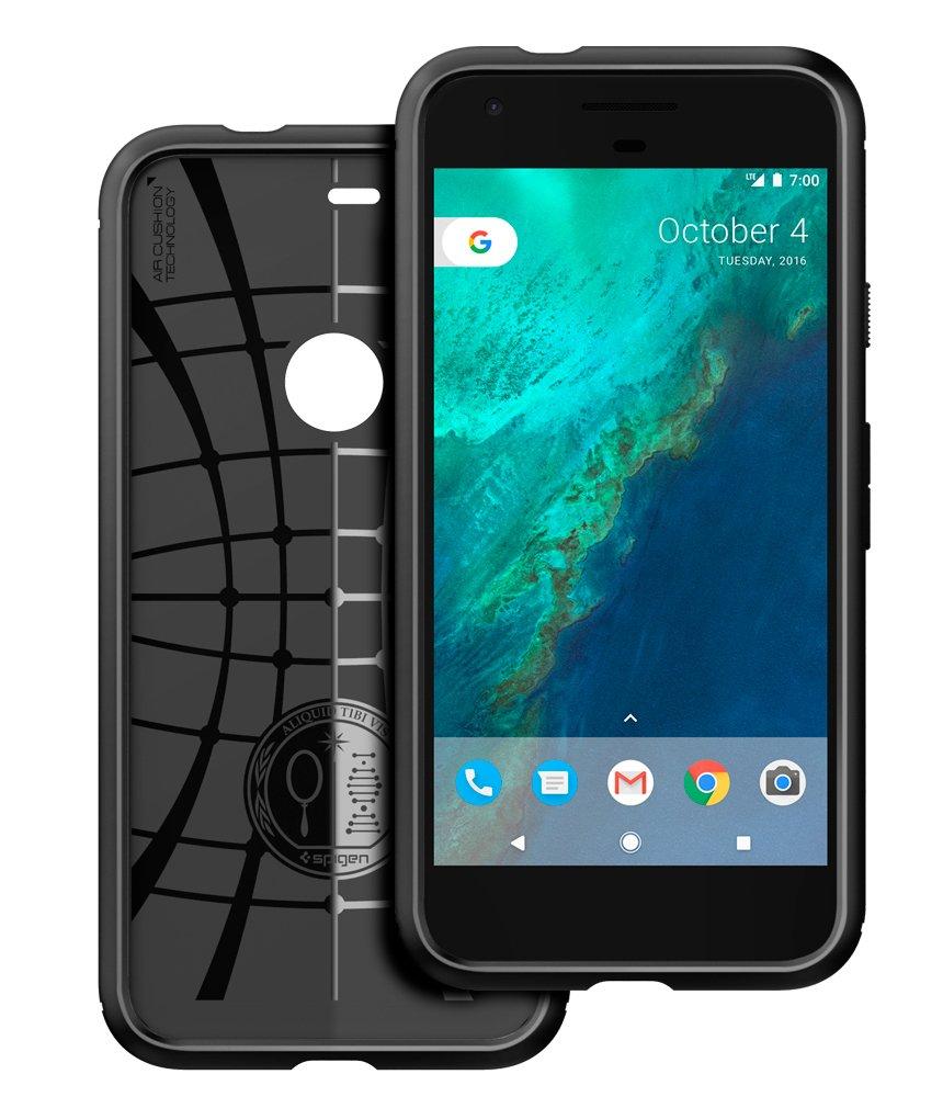 Spigen Rugged Armor Designed for Google Pixel Case (2016) - Black