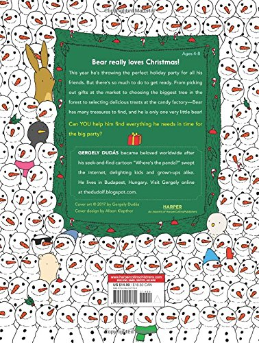 Bear's Merry Book of Hidden Things: Christmas Seek-and-Find by HarperCollins (Image #2)