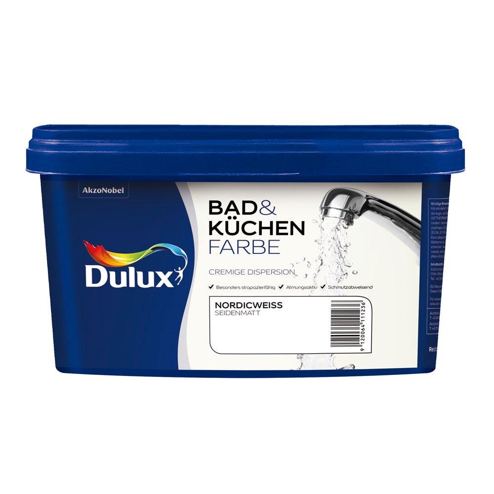 Dulux 5087517 Bad-& Kü chenfarbe matt, Lagunenblau Akzo Nobel Deco GmbH
