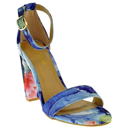 Frenzy 45S Womens Open Toe Chunky Heel Sandals Sandals