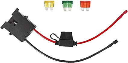 Amazon.com: KASSupply 12V Battery Wire Harness Connector for Fisher-Price  Power Wheels Ride-On Toys: Sports & Outdoors | Battery Wiring Harness |  | Amazon.com