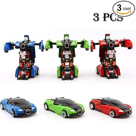 Amazon.com: JINGYD Mini Robot de bolsillo para coche, 3 ...
