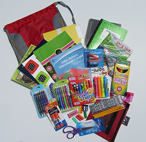 Back to School Supplies for High School and College Students Variety Name Brands
