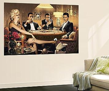 Amazon.com: Four of a Kind Marilyn Monroe James Dean Elvis Presley ...
